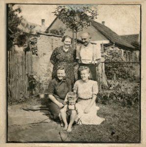 Oprava poškozené fotografie - ukázka PO