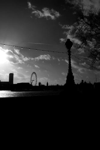 Fotografie města - Londýn a slavné London Eye