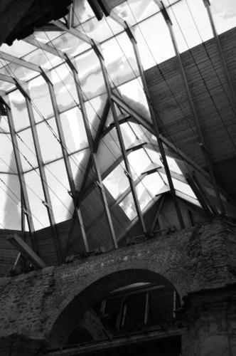 Detailní fotografie střechy