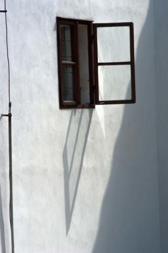 Detailní fotografie okna