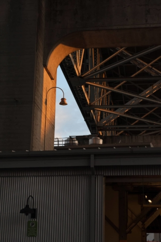 Fotografie města - most