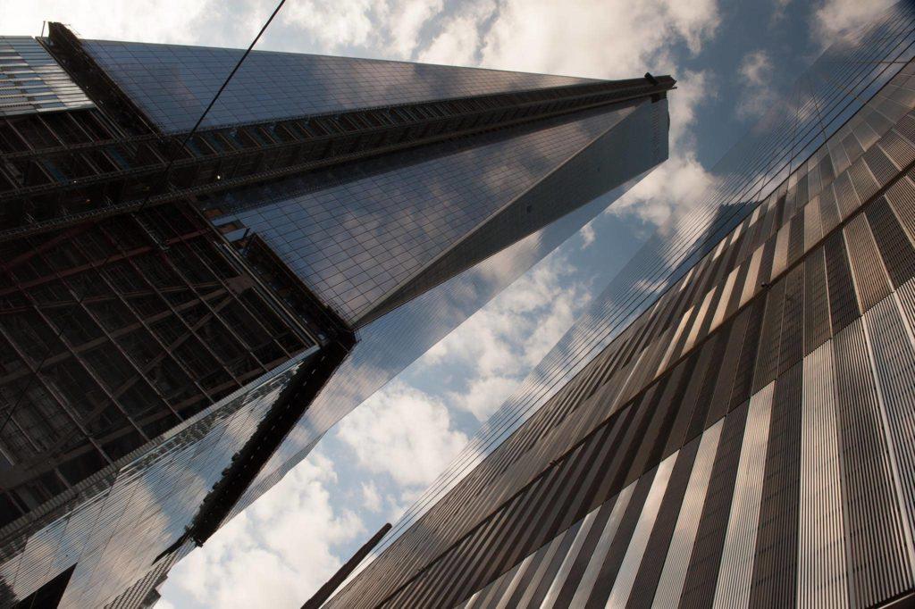 Fotografie města - mrakodrapy v New Yorku