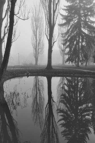 Fotografie města - zimní zátiší
