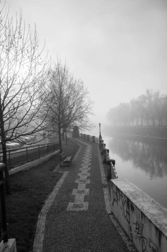 Fotografie města - Nábrřeží v Hradci Králové