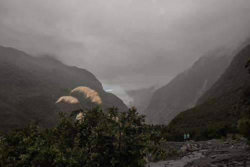 Fotografie přírody - národní park Fiordland, Nový Zéland