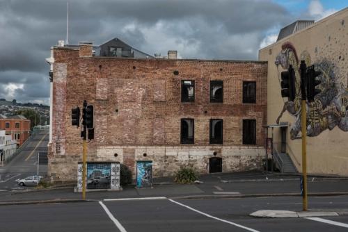 Fotografie města - Nový Zéland