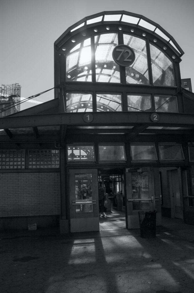 Stanice podzemky 72 St, New York