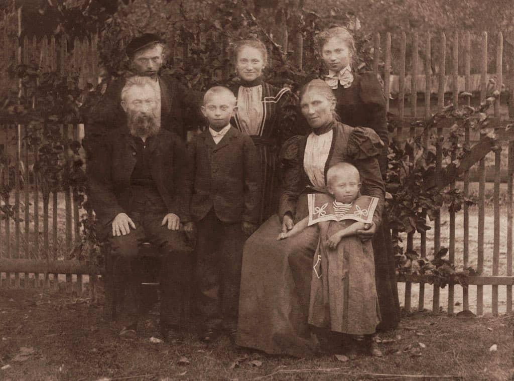 Opravená historická fotografie
